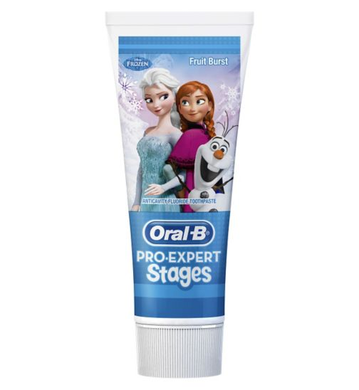 Oral-B Stages Disney Frozen Toothpaste - 75ml