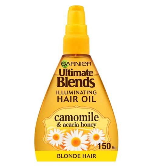 Garnier Ultimate Blends Blonde Illuminator Oil 150ml