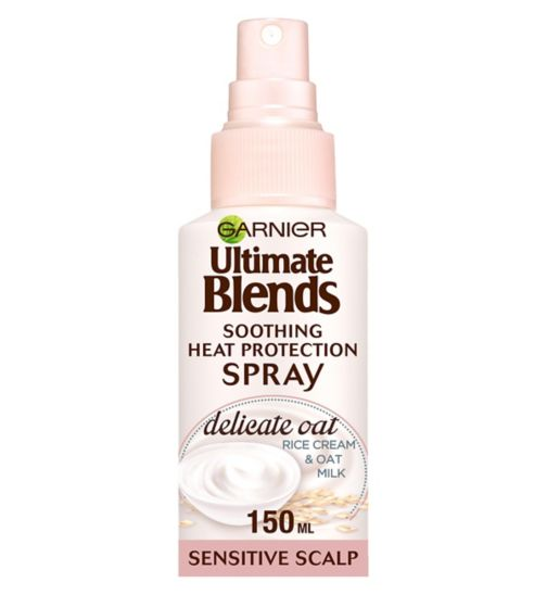 Garnier Ultimate Blends Delicate Soother Heat Protection Milk 150ml