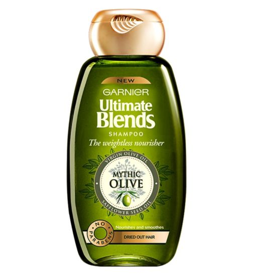 Garnier Ultimate Blends Weightless Nourisher Shampoo 400ml