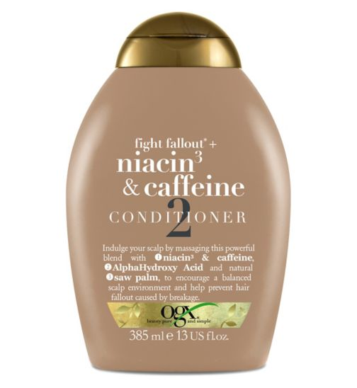 OGX Niacin&Caffeine Conditioner 385ml
