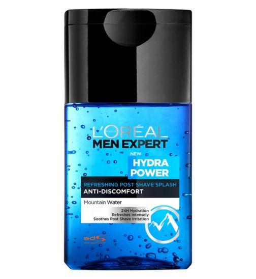 L'Oreal Hydra Power Refreshing Post Shave Splash 125ml
