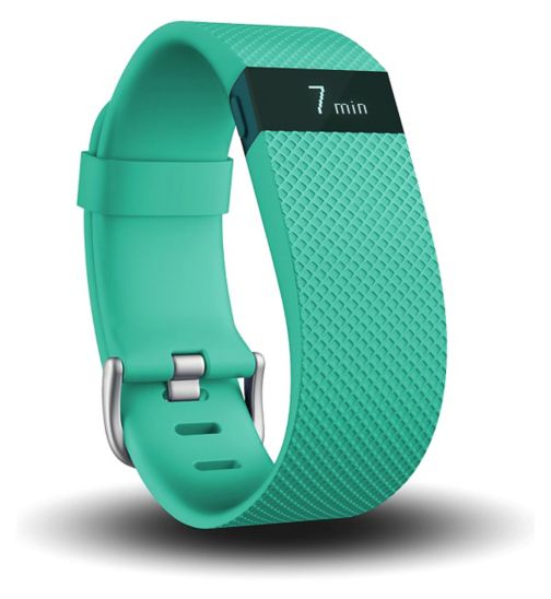 Fitbit ChargeHR Teal - Large