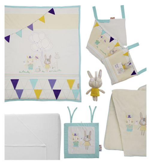 Tutti Bambini Garden Party 7 Piece Bedding Bundle