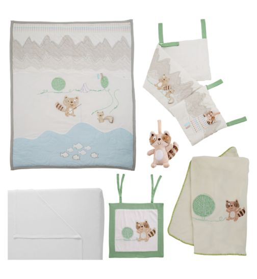 Tutti Bambini Outdoor Adventure 7 Piece Bedding Bundle