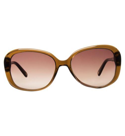 51e663b96bc Nine West Women s NW559S Prescription Sunglasses - Brown