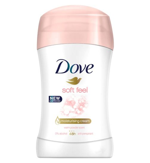 Dove Soft Feel Anti-perspirant Deodorant Stick 40ml