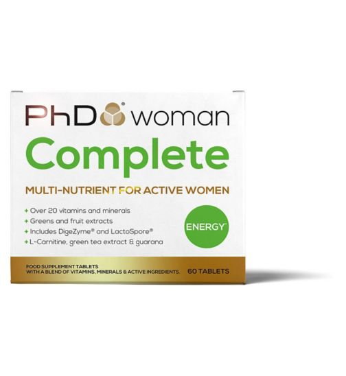 PhD Woman Complete multi-nutrient - 60 tablets