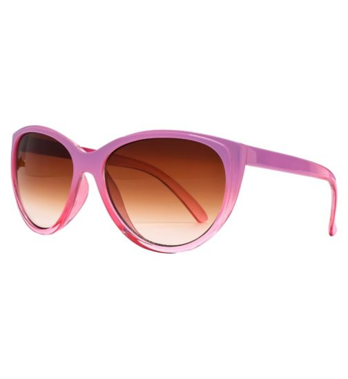 Monkey Monkey Girls Pink Cateye Sunglasses