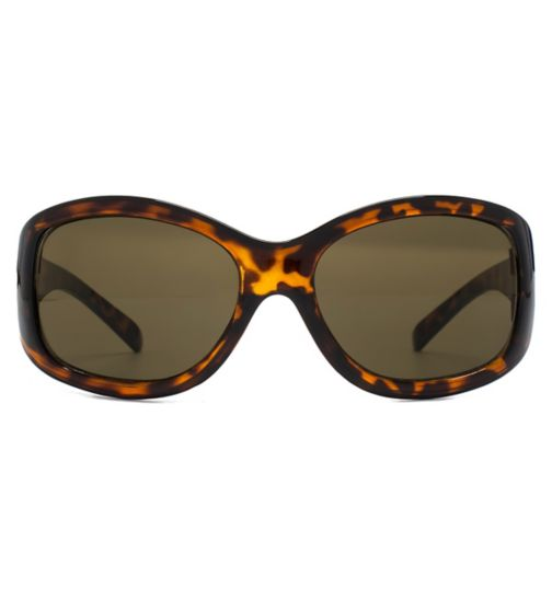 Monkey Monkey Girls Leopard Print Wrap Sunglasses