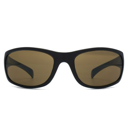 Monkey Monkey Boys Black and Blue Wrap Sunglasses
