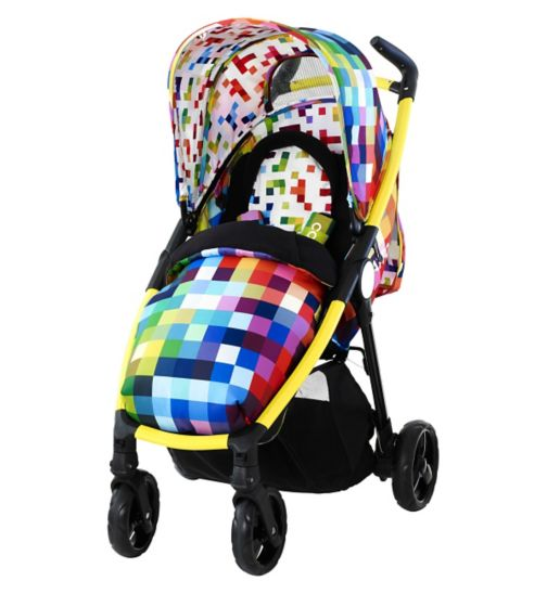 Cosatto Fly Travel System Pixelate