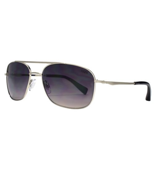 Sunna Man Small Silver Aviator Sunglasses