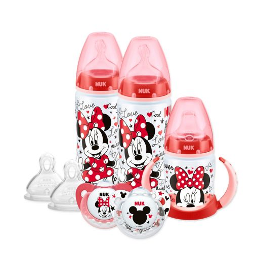 NUK Mickey & Minnie Bottle Soother and Cup set
