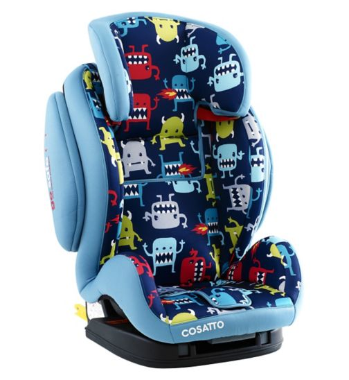 Cosatto Hug Group 123 Isofix Car Seat - Cuddle Monster 2