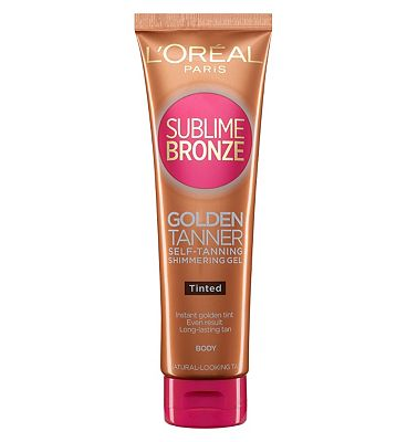 LOreal Sublime Bronze Tinted Shimmer Gel 150ml