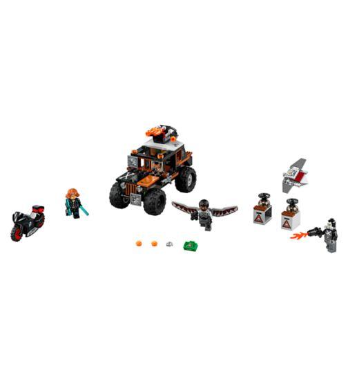 LEGO Superheroes Marvel Captain America Movie  Crossbones' Hazard Heist 76050