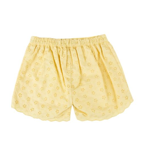 Mini Club Girls Shorts Yellow