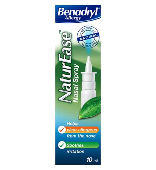 Benadryl Allergy NaturEase Nasal Spray - 10ml