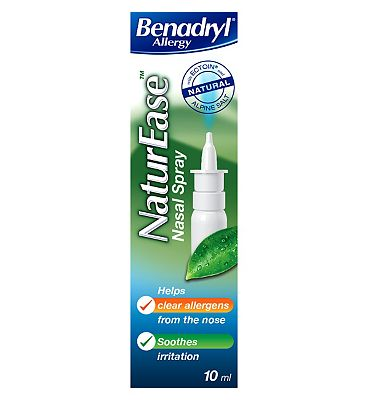 Benadryl Allergy NaturEase Nasal Spray - 10ml