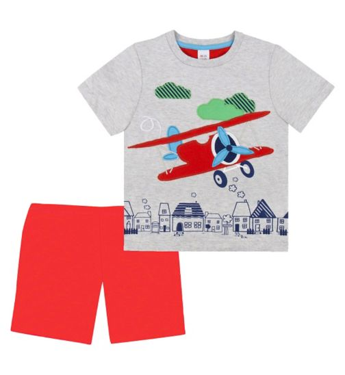 Mini Club Boys Short Pyjamas Plane