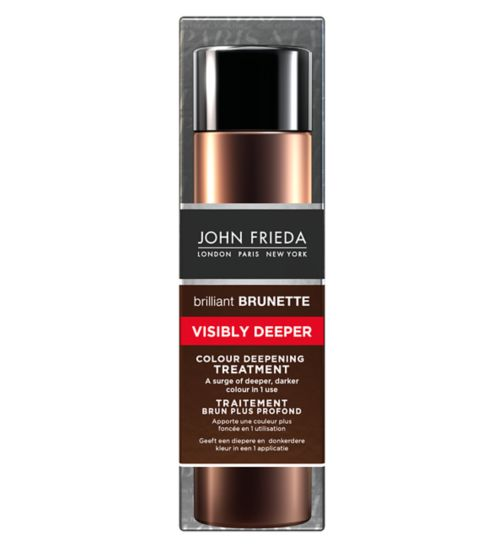 John Frieda Brilliant Brunette Visibly Deeper Colour Deepening Treatment 150ml