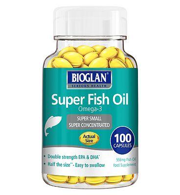 Bioglan Super Fish Oil -100 capsules