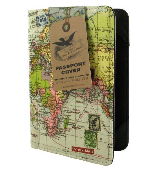 Wild & Wolf Travel Passport Cover