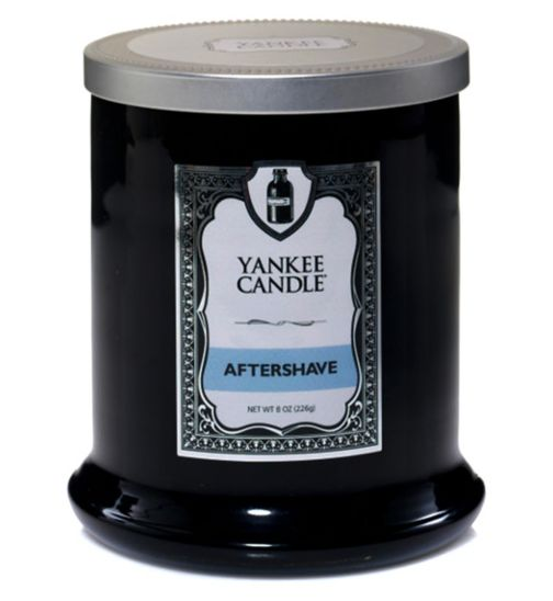 Yankee Candle Barbershop Gentlemen's Candle Collection, Aftershave Tumbler Candle