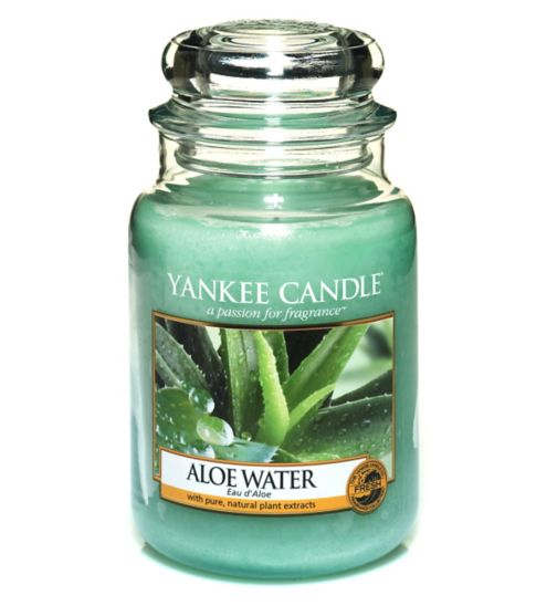 Yankee Candle Aloe Water Large Jar