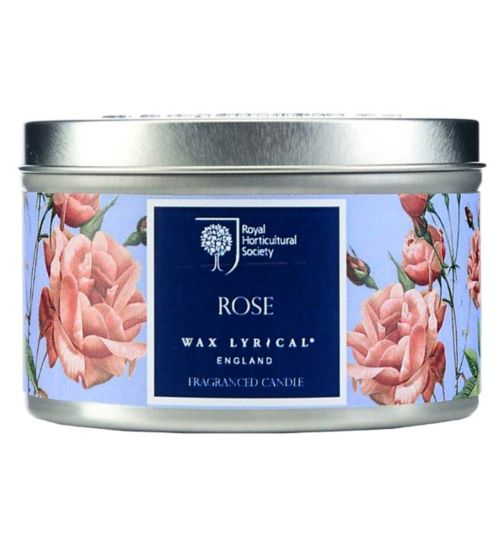 Wax Lyrical RHS Scented Wax Filled Tin Rose