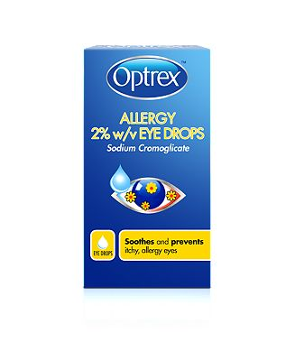 Optrex Allergy 2% w/v Eye Drops - 10ml