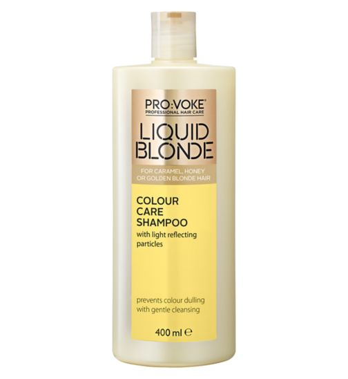 PRO:VOKE Liquid Blonde Colour Care Shampoo 400ml