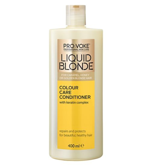 PRO:VOKE Liquid Blonde Colour Care Conditioner 400ml