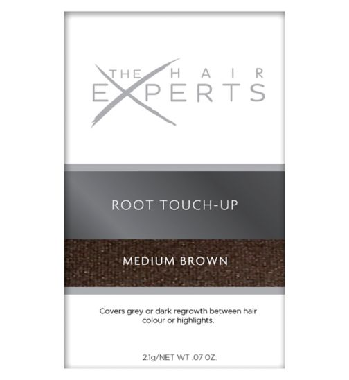 Hair Experts Instant Touch Up Kit Medium Brown