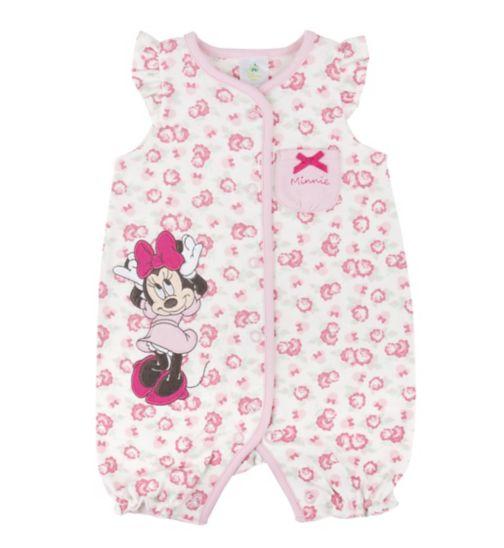 Mini Club Baby Girls Romper Minnie Mouse