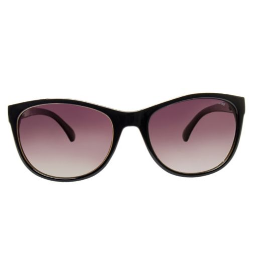 Polaroid Women's P8339 Prescription Sunglasses - Black