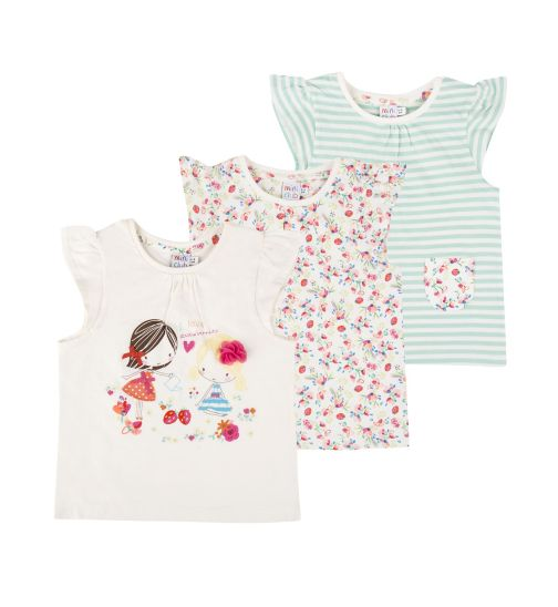 Mini Club Girls Tops 3 Pack