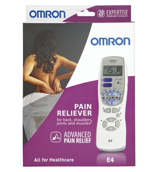 Omron E4 Electronic Pulse Massager TENS unit