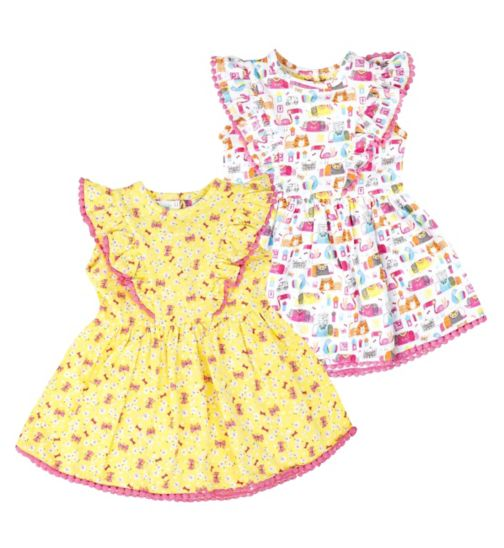 Mini Club Baby Girls Dress 2 Pack