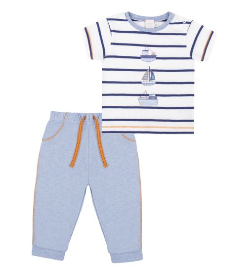 Mini Club Baby Boys Striped 2 Piece Set