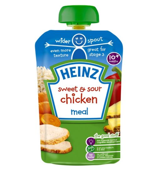 Heinz 10+ Months Sweet & Sour Chicken Meal 180g