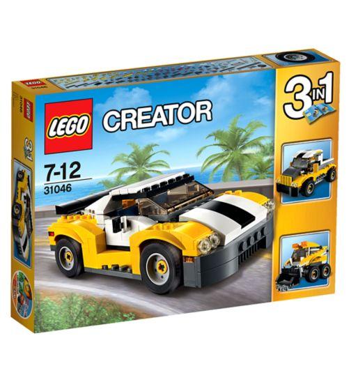 LLEGO Creator fast car