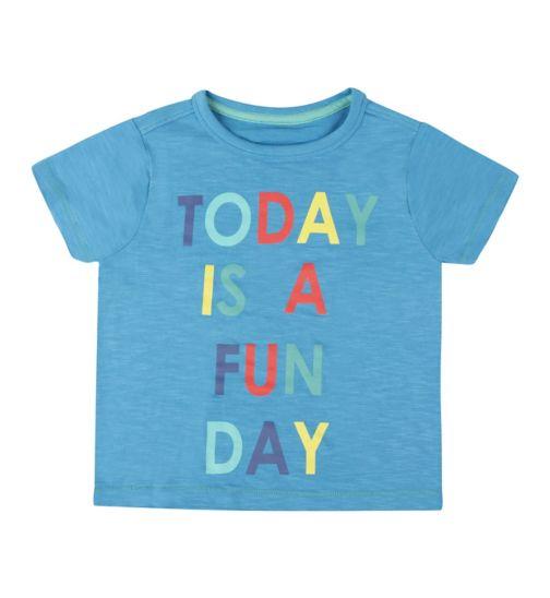 Mini Club Boys Graphic T-shirt Blue