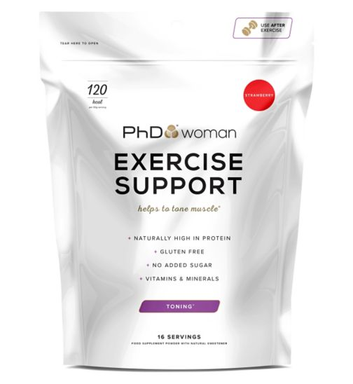 PhD Woman Exercise Support Strawberry 512 g