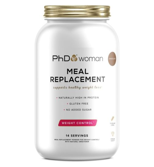 PhD Woman  Meal Replacement Powder Chocolate Flavour - 770g
