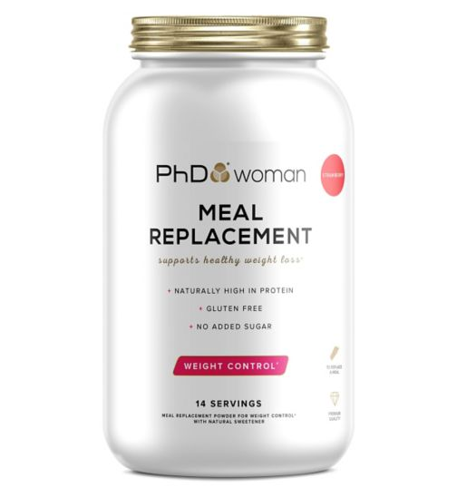 PhD Woman Meal Replacement Powder Strawberry Flavour- 770g