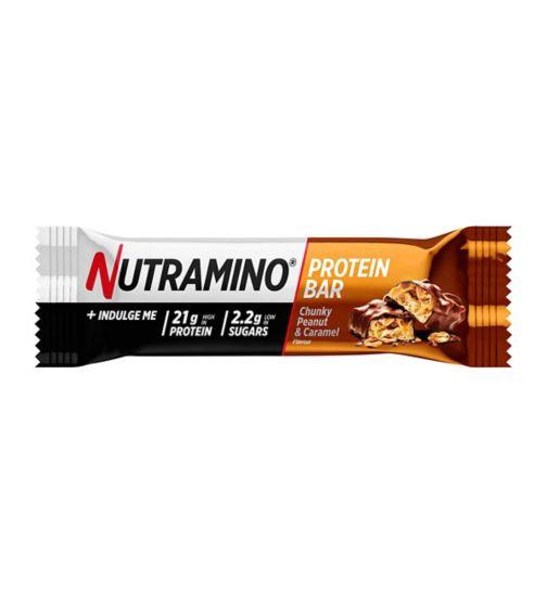 Nutramino Protein Bar - Peanut & Caramel