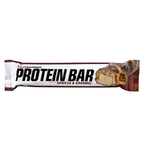 Nutramino Protein Bar - Vanilla & Caramel