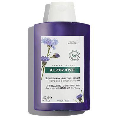 Klorane Anti-Yellowing Centaury Shampoo 200ml